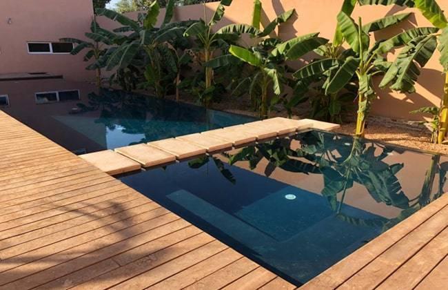 Comment faire une piscine d bordement en b ton - Comment faire une piscine pas cher ...