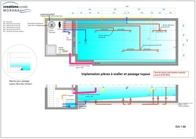 swimming pool plumbing diagram